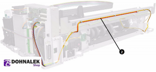 HP Q1292-67014 Encoder harness for HP DesignJet 70 90 100 110 120 130