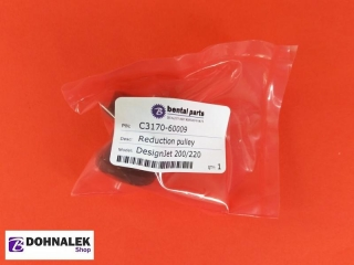 C3170-60009; HP Reduction pulley for HP DesignJet 200 220