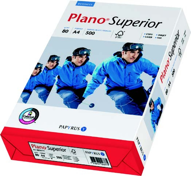 Papír Plano Superior A3 80 g/m2 500 listů