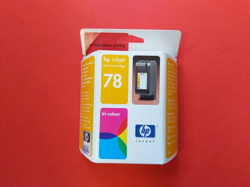 HP C6578ae, HP No. 78, originální tisková náplň tri-color 38 ml