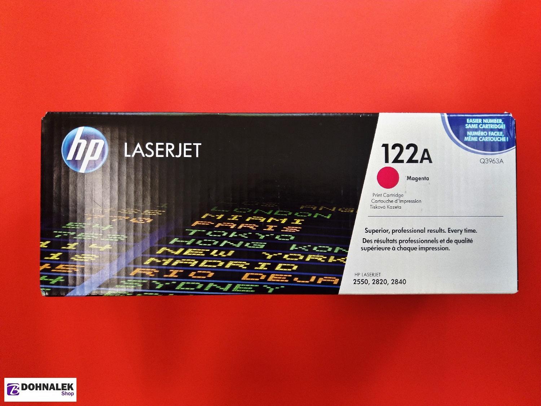 HP Q3963A Toner 122A pro CLJ 2550 (4000str), Magenta